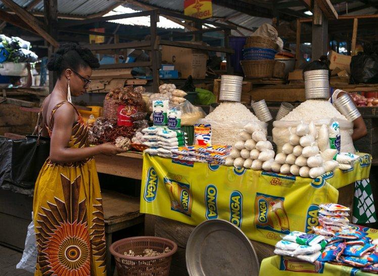 Image result for ghana market ACCRA